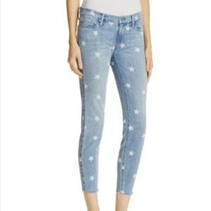 Black Orchid NOAH Ankle Fray Star Jeans Size 25